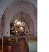 Irsta sn, Irsta kyrka. Del av predikstol i Irsta kyrka, 1973.
