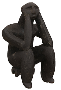 Image from object titled 3D model of the Male Thinker