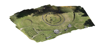Image from object titled 3D model of Sarmizegetusa - Sacred area