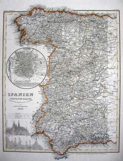 Spanien Westliche Hälfte Nach den besten Quellen...