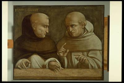 Ritratto di Alberto Magno e Duns Scoto