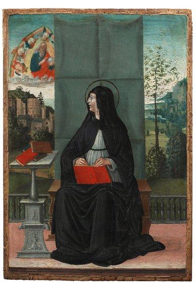 Madonna in trono con Dio Padre
