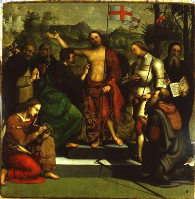 incredulità di San Tommaso e Santi
