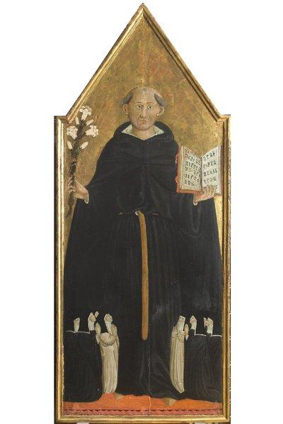 San Nicola da Tolentino ed altri personaggi