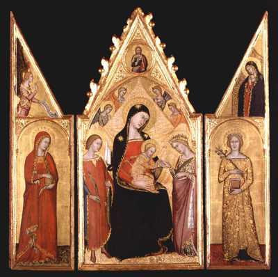 trittico portatile