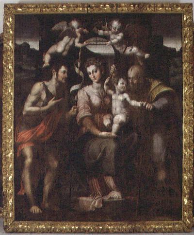 Sacra Famiglia con San Giovanni Battista