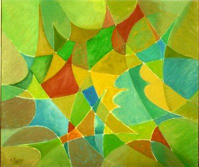 Geometric Painting opus n.25
