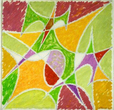 Geometric painting opus n. 10