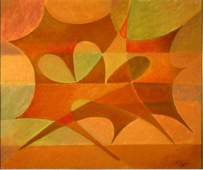 Geometric painting opus n. 26