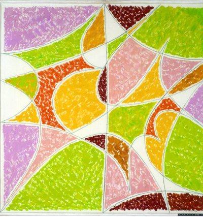 Geometric painting n. 6