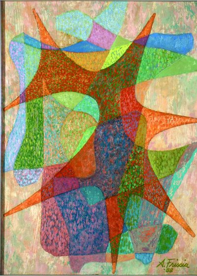 Senza titolo (Geometric painting)