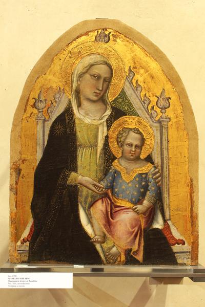 Madonna con Bambino in trono