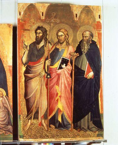 Sant'Antonio abate, San Jacopo e San Giovanni Battista