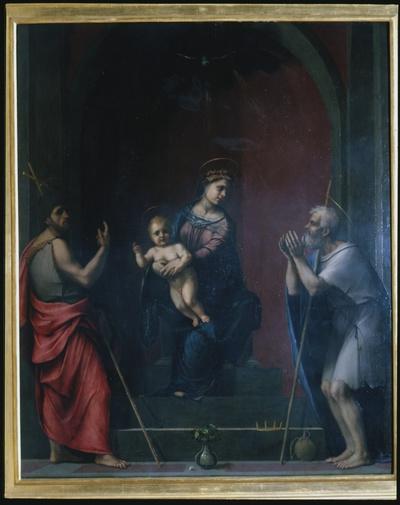 Madonna con Bambino tra San Giovanni Battista e San Giobbe