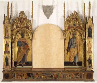 San Pietro, San Paolo e storie della vita del Battista