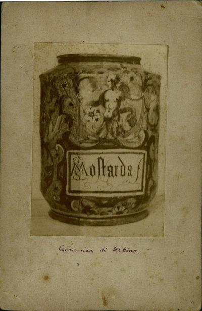 Contenitore per alimenti: vaso di ceramica