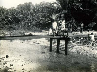 Werkzaamheden aan brug