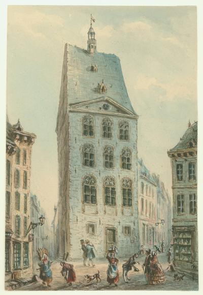 Maastricht. Kleine Staat. Dinghuis.
