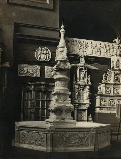 Fontaine dite de Beaune. Semblancay N° 3801 moulage Musée Cinquanten, Brux