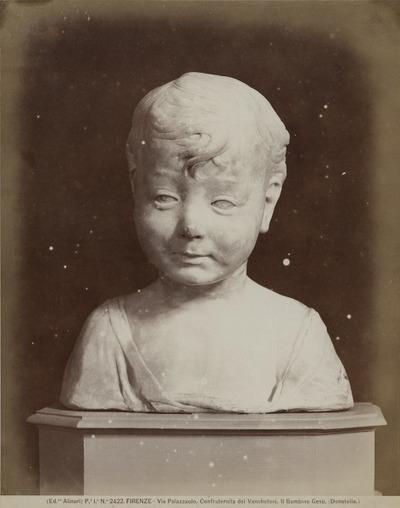 [Borstbeeld] Het Kindje Jesus Florence