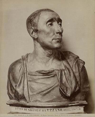 Buste van Nic. da Uzzano Nat. Museum, Florence
