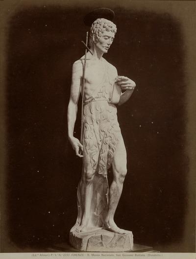 [Standbeeld] Johannes-de-Dooper Nat. Museum, Florence