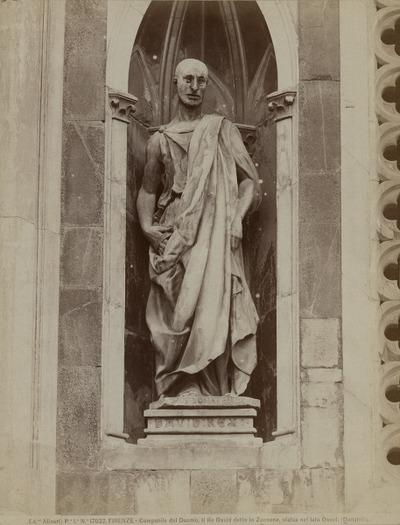 [Standbeeld] Zuccone Campanile, Florence