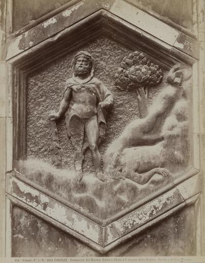 Image from object titled Caïn en Abel Campanile, Florence