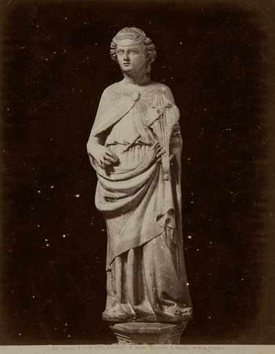Image from object titled [Standbeeld] H. Cecilia Nat. Mus., Florence