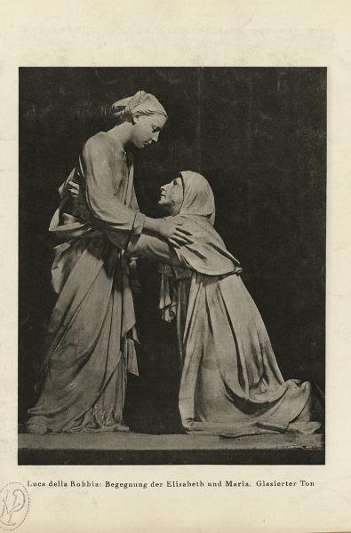 De Bezoeking Begegnung der Maria und Elisabeth