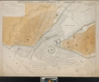 Image from object titled Geognostische Karte : Entwässerung Der Stadt Hamburg Nr. 1 ; Beilage zum Berichte von Wm. Lindley, März 1843. No. 1. Geognostische Karte / / lith. Speckter & Co.