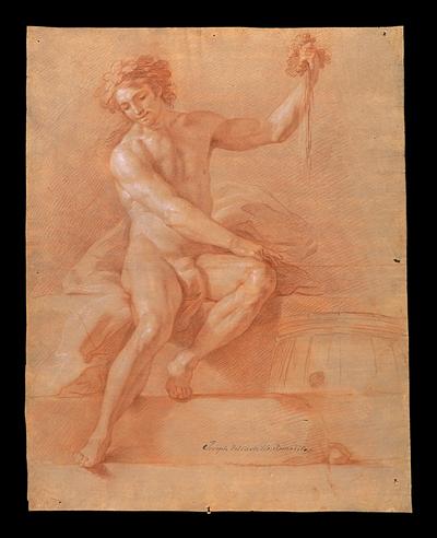 Desnudo masculino (¿Baco?)