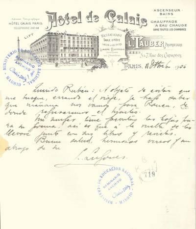Carta de Lugones, Leopoldo