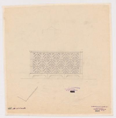 Image from object titled Firma Gebr. Meyer in Hannover-Vinnhorst. Verwaltungsgebäude