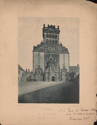 St. Matthiaskirche, Trier