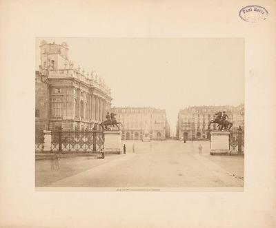 Piazza Castello und Palazzo Madama, Turin