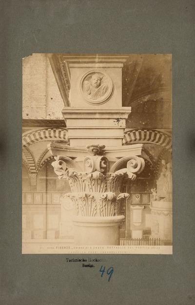 S. Croce in Florenz. Pazzi-Kapelle