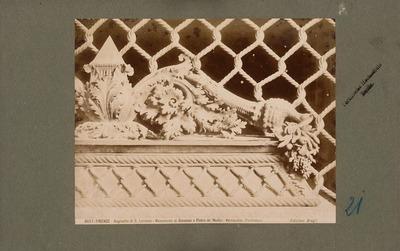 S. Lorenzo in Florenz. Alte Sakristei: Grabmal für Piero und Giovanni di Medici