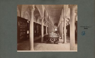 S. Marco, Florenz. Bibliothek