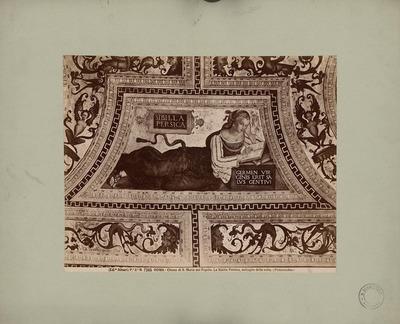 S. Maria del Popolo, Rom. Deckenmalerei La Sibilla Persica