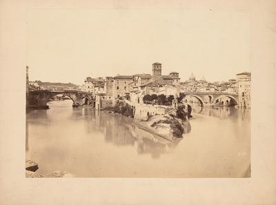 Brücken zur Tiberinsel, Rom