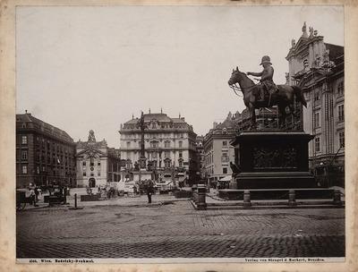 Radetzki-Denkmal, Wien