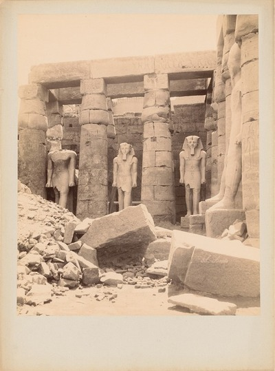 Image from object titled Tempel von Luxor