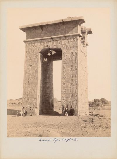 Ptolemaeertor Euergetes I. in Karnak (Theben-Ost)
