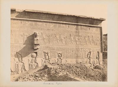 Tempel der Hathor in Dendera