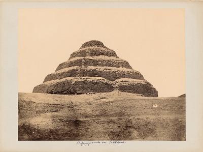 Stufenpyramide des Königs Zoser [Djoser], Sakkara [Saqqara]