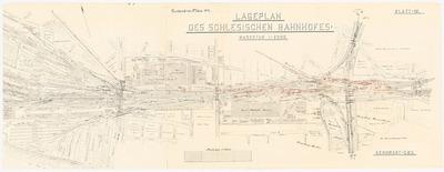 U-Bahn in Berlin. Schinkelwettbewerb 1919