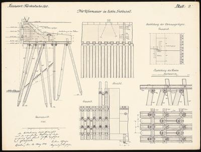 Image from object titled Hafenanlage bei Danzig-Neufahrwasser. Schinkelwettbewerb 1914