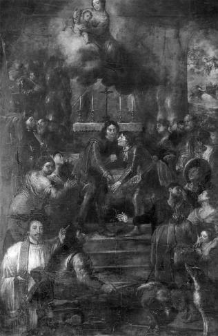 De instelling van de processie naar Onze-Lieve-Vrouw van Neerwaver