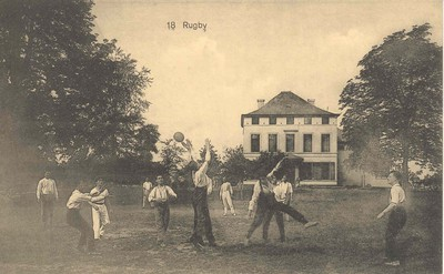 Image from object titled 18. Rugby Ecole Ouvrière Supérieure Bruxelles